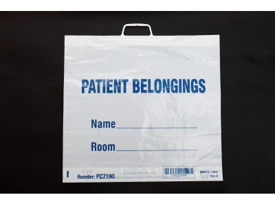 Patient Belongings Bags (Rigid Handle)